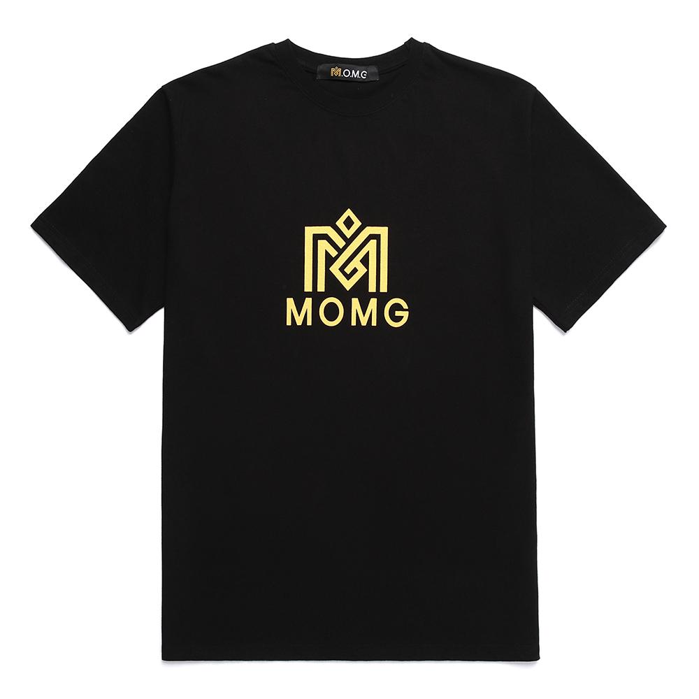 M.O.M.G BASIC LOGO T / BLACK