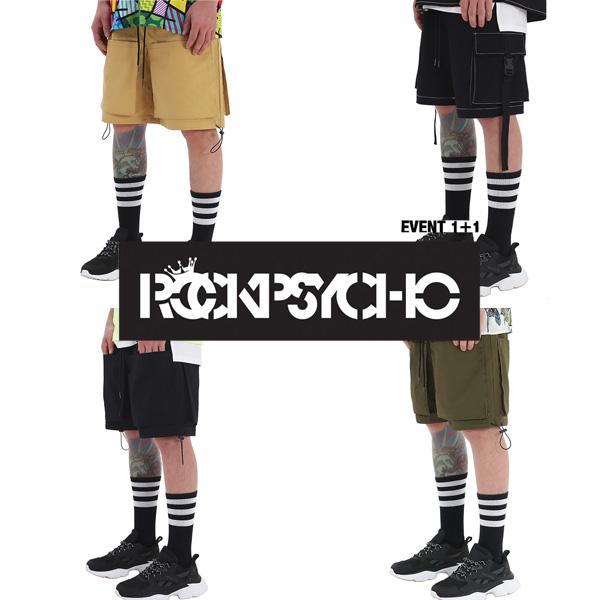 [단독벨트증정][1+1] [단독할인]ROCKPSYCHO Inside Short Pant  / 인사이드 숏팬츠