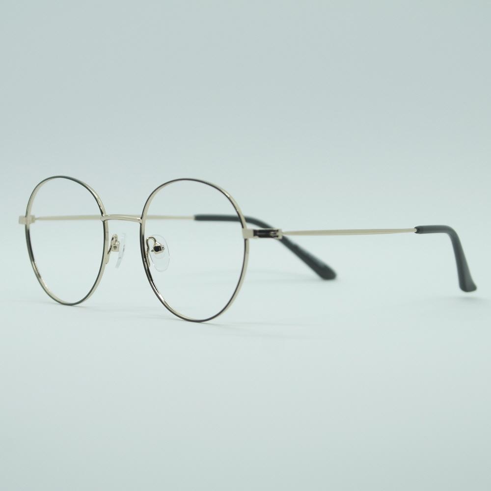 비아이에이 GLASSES FRAME VIA-302_01 (GOLD) 안경테 동글이안경 메탈안경