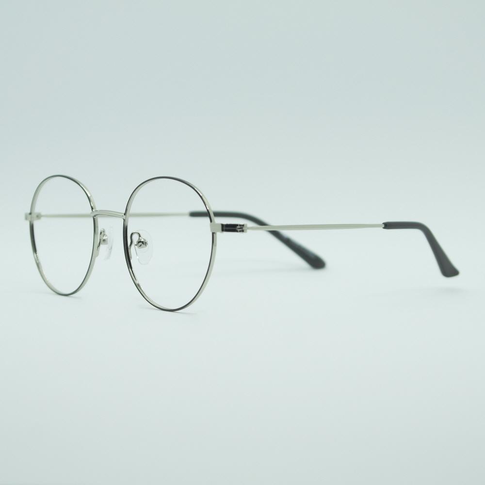 비아이에이 GLASSES FRAME VIA-302_02 (SILVER) 안경테 동글이안경 메탈안경