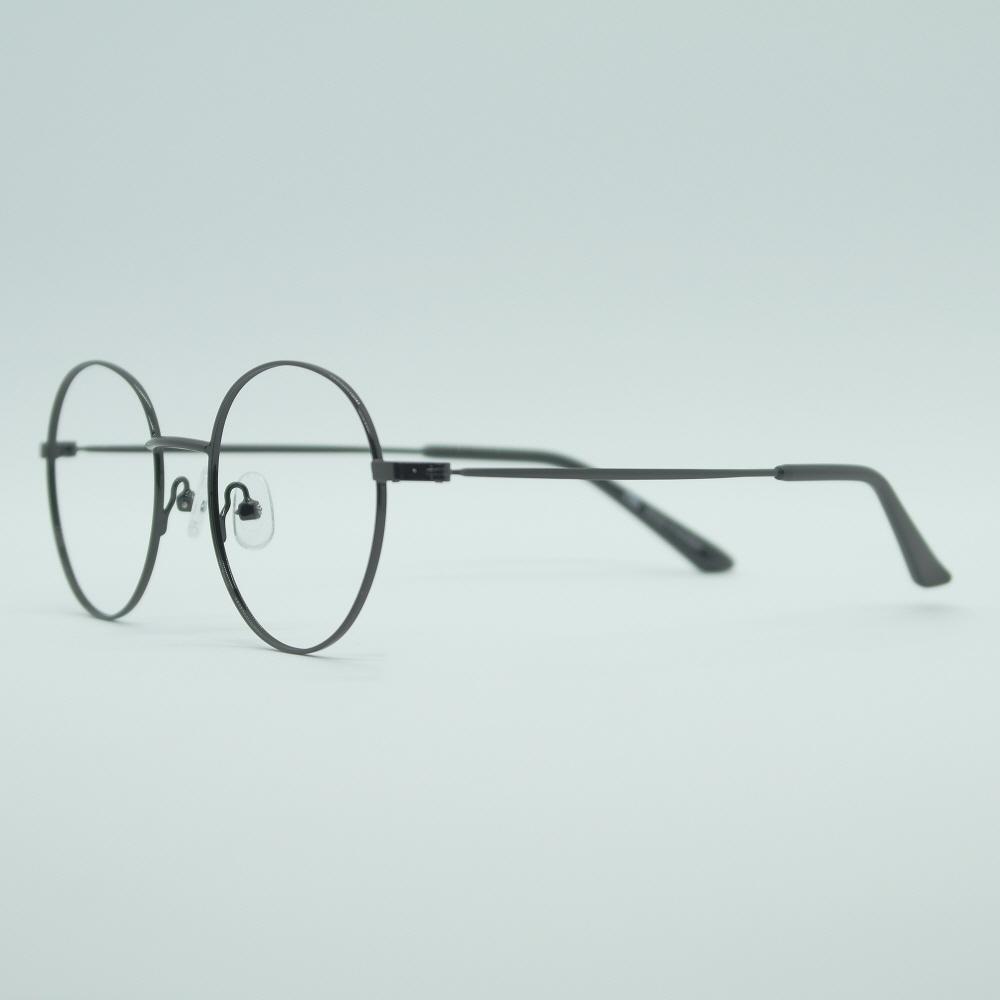비아이에이 GLASSES FRAME VIA-302_03 (BLACK) 안경테 동글이안경 메탈안경