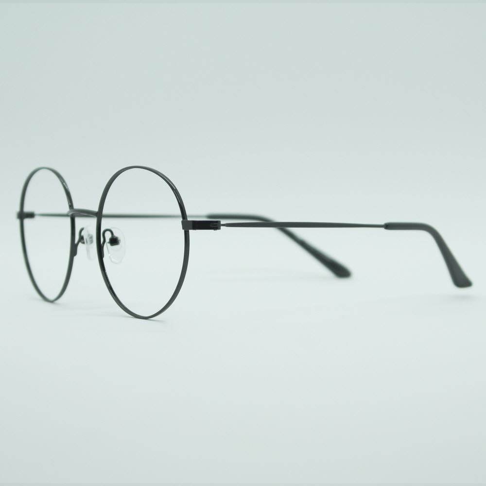 비아이에이 GLASSES FRAME VIA-303_01 (BLACK) 안경테 동글이안경 메탈안경