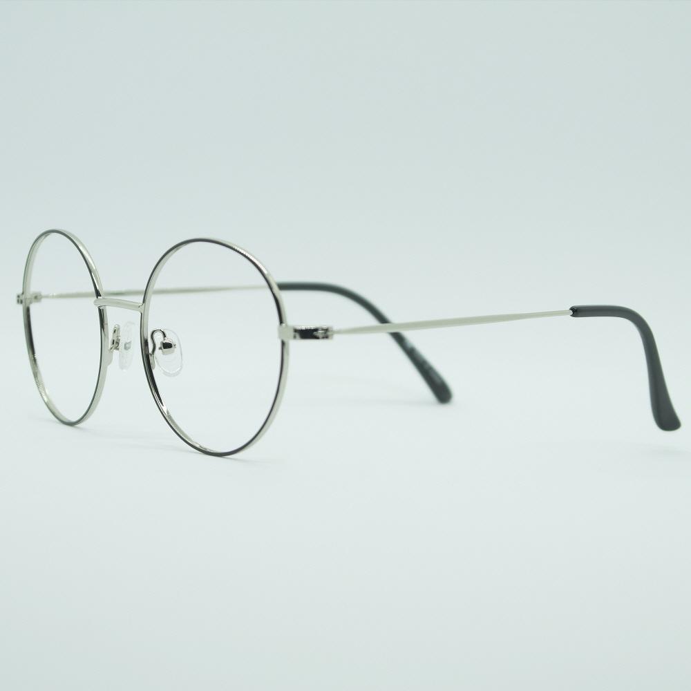 비아이에이 GLASSES FRAME VIA-303_02 (SILVER) 안경테 동글이안경 메탈안경