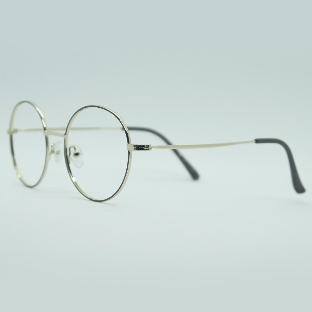 비아이에이 GLASSES FRAME VIA-303_03 (GOLD) 안경테 동글이안경 메탈안경