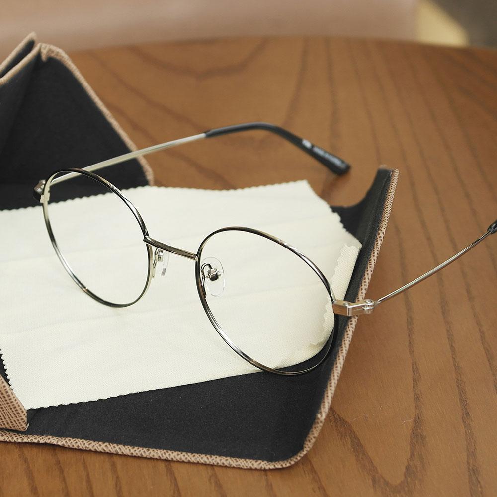 비아이에이 GLASSES FRAME VIA-304_02 (SILVER) 안경테 동글이안경 메탈안경
