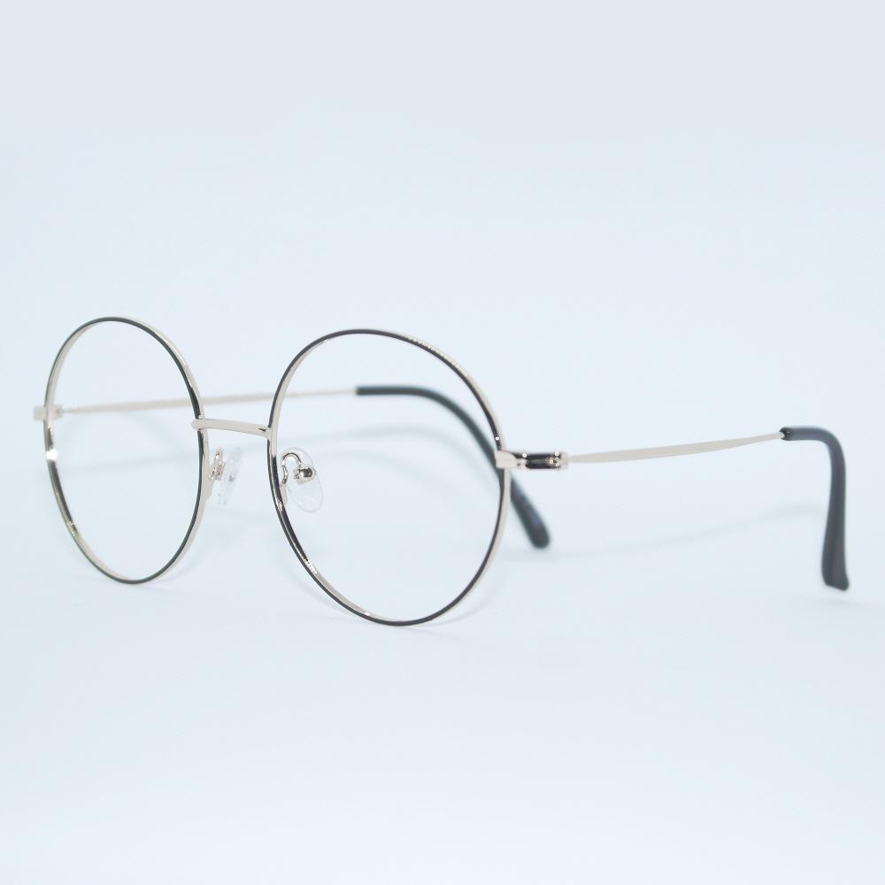 비아이에이 GLASSES FRAME VIA-307_01 (GOLD) 안경테 동글이안경 메탈안경