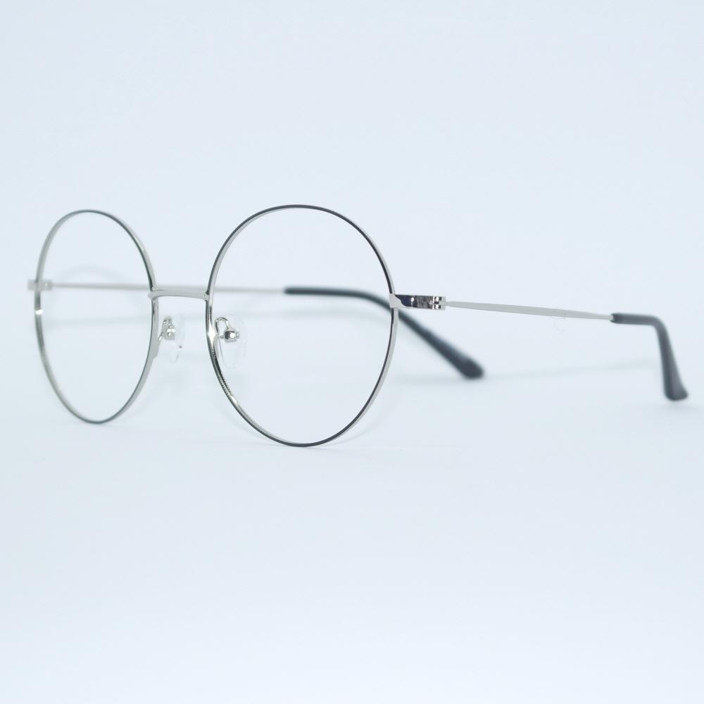 비아이에이 GLASSES FRAME VIA-307_02 (SILVER) 안경테 동글이안경 메탈안경