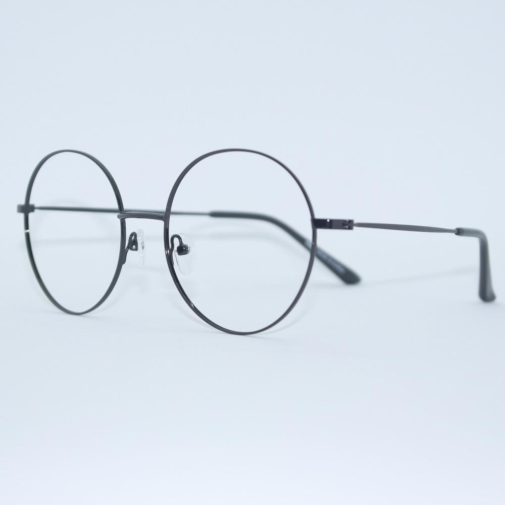비아이에이 GLASSES FRAME VIA-307_03 (BLACK) 안경테 동글이안경 메탈안경