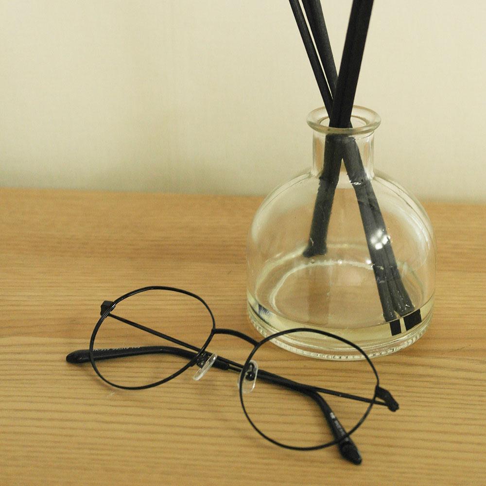 비아이에이 GLASSES FRAME VIA-309_01 (BLACK) 안경테 메탈안경 각안경