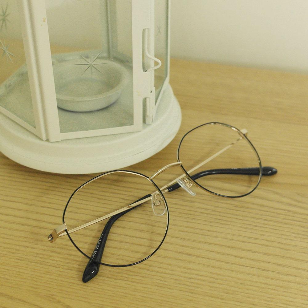 비아이에이 GLASSES FRAME VIA-309_03 (GOLD)  안경테 메탈안경 각안경