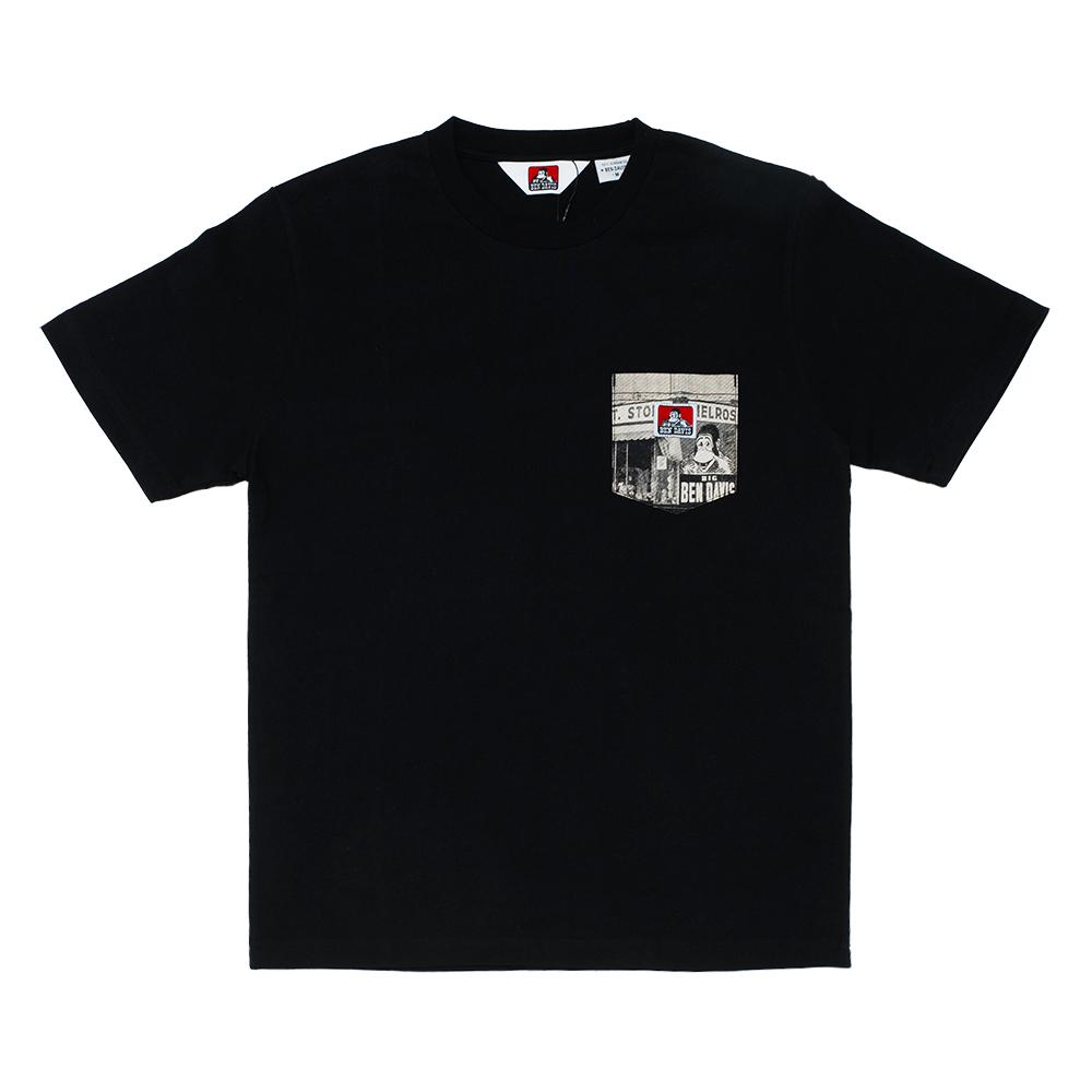 화이트라벨 포토 포켓 티셔츠