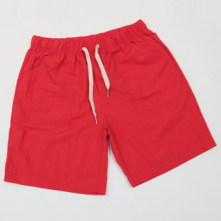 BEACH SHORT PANTS-레드
