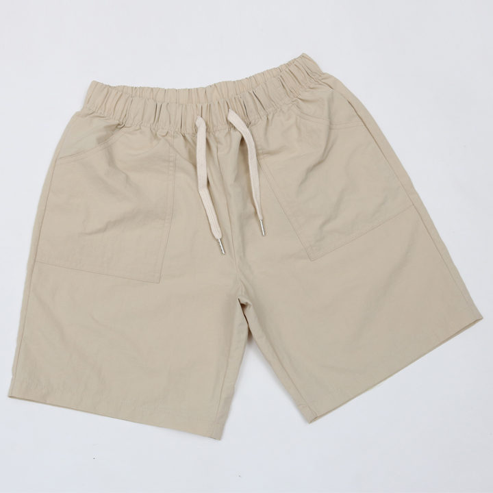 BEACH SHORT PANTS-베이지