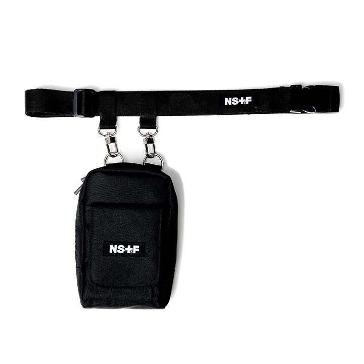 [단독할인][NF] NF BELT POUCH BAG BLK (NF19S085H)
