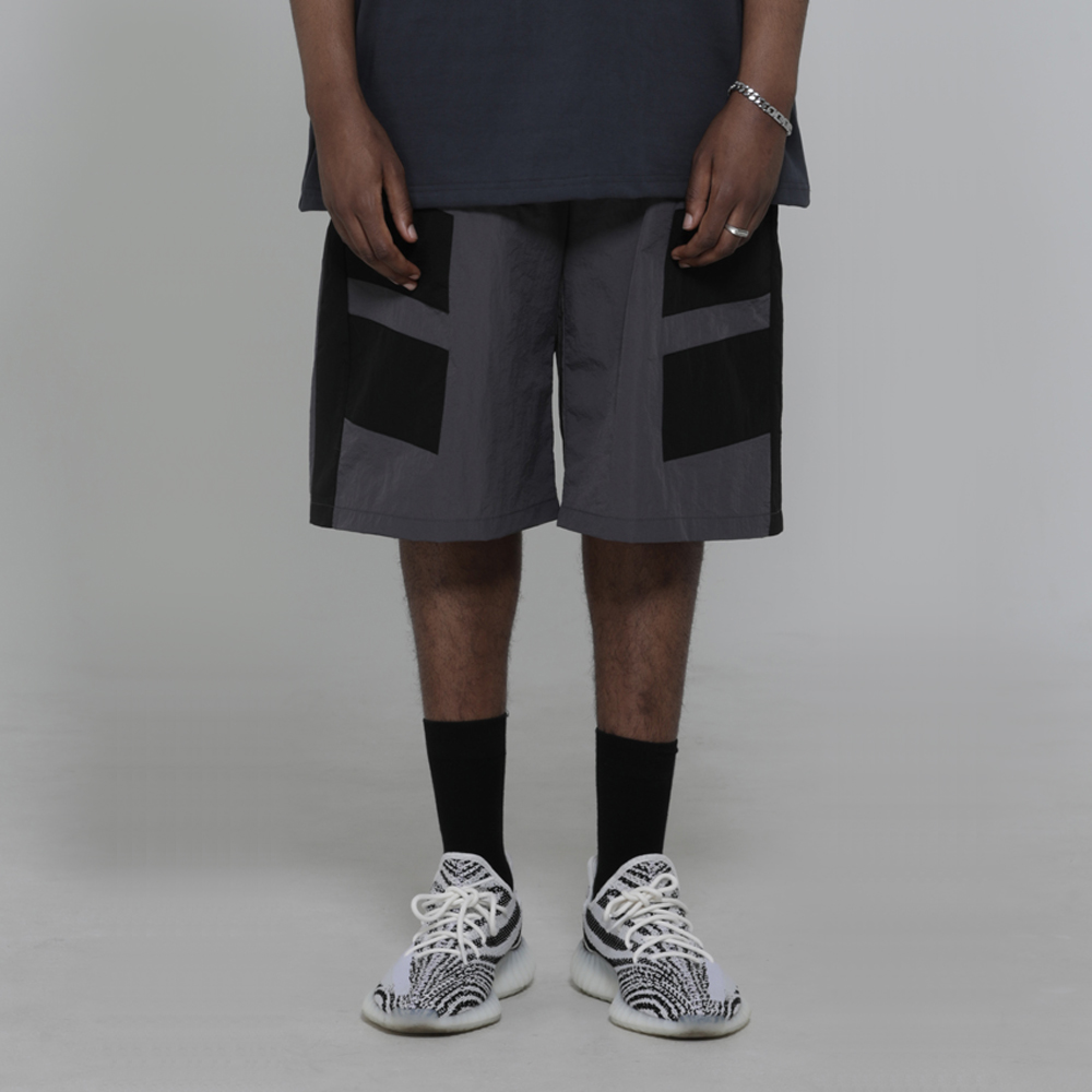 Piece Nylon Shorts (Grey)_0054