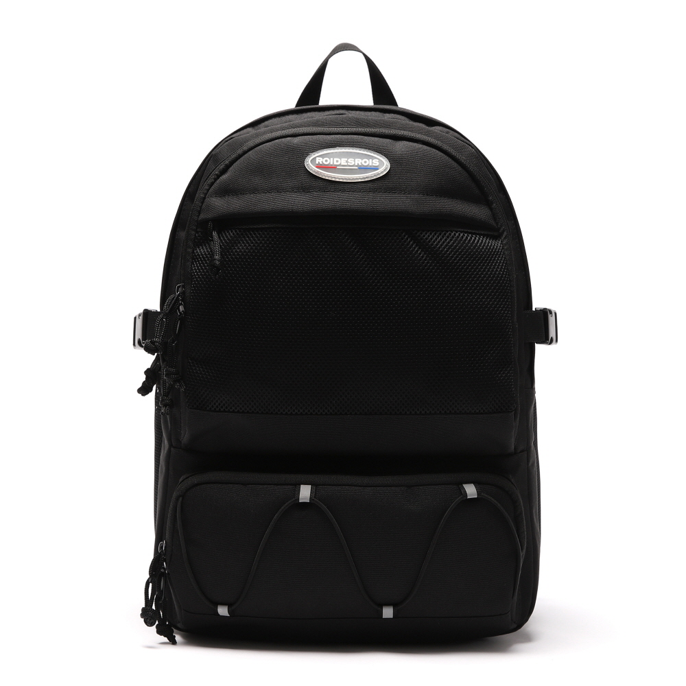 R RUBBER LABEL OMG BACKPACK (BLACK)