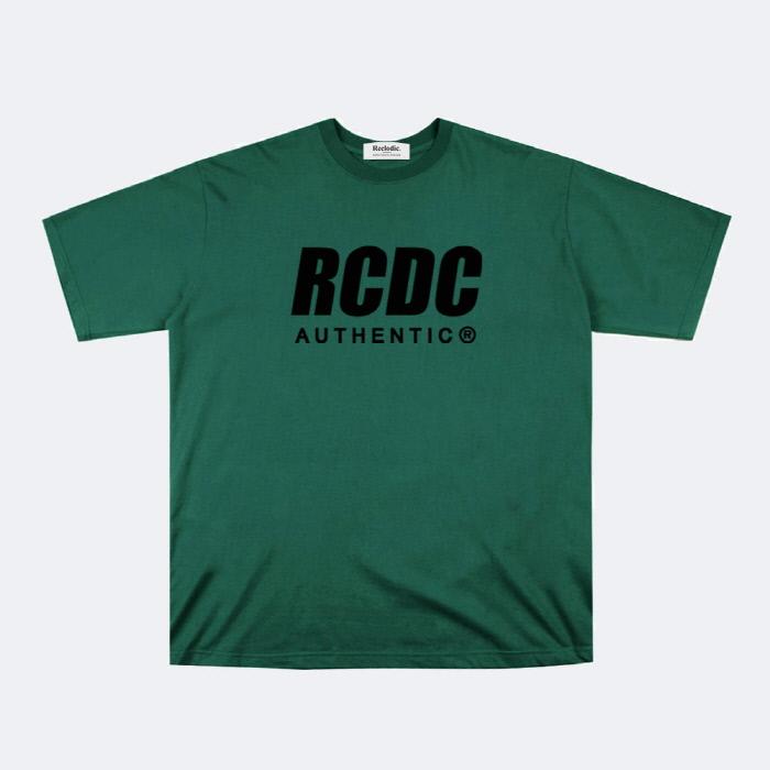 리클로딕 - RCDC 로고 반팔티셔츠 그린