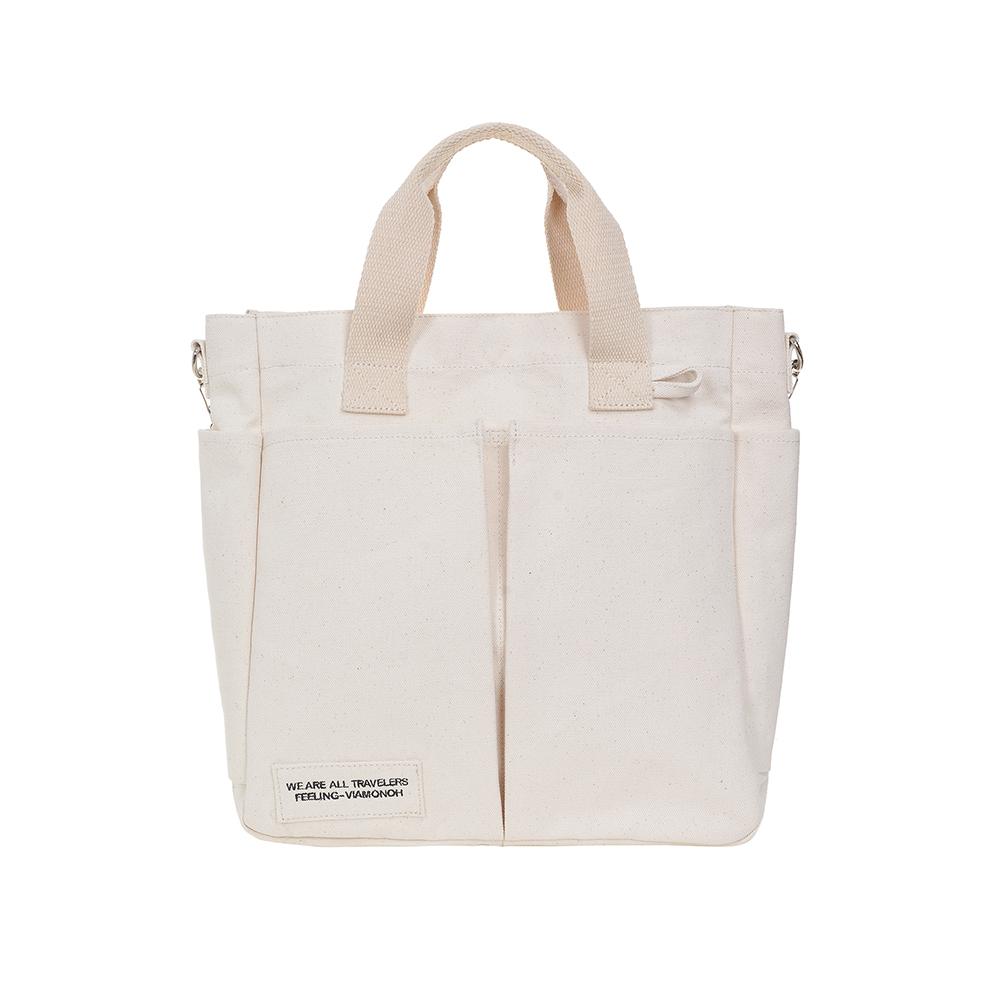 VIAMONOH DAILY TUMBLER BAG (IVORY) 에코백 토트백 크로스백 텀블러백 가방
