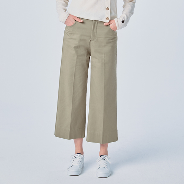 BACK POCKET STRAIGHT PANTS