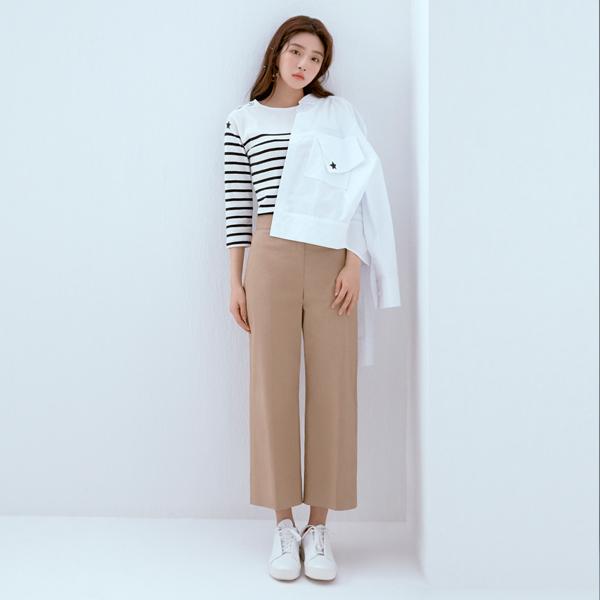 BASIC STRAIGHT PANTS