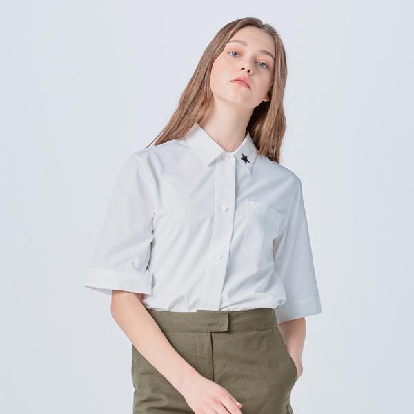 [VALENTINE] WIDE SLEEVE BASIC SHIRT