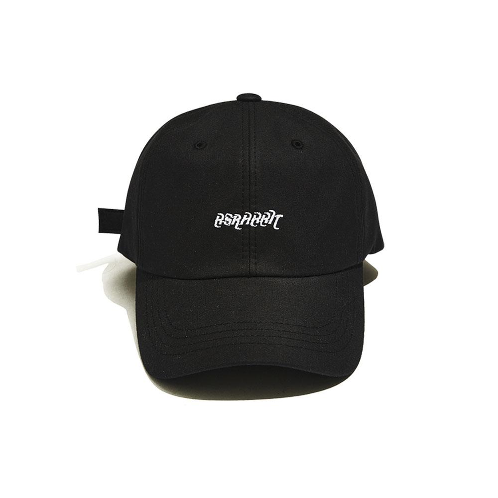 [비에스래빗] BSRABBIT WASHING CAP BLACK