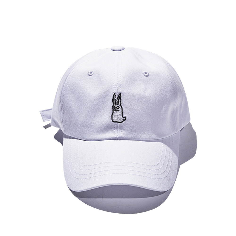 [비에스래빗] GR OPEN ZIPPER CAP WHITE