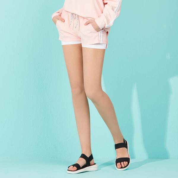 아키클래식 여자 보드숏 2선 커버업 핑크