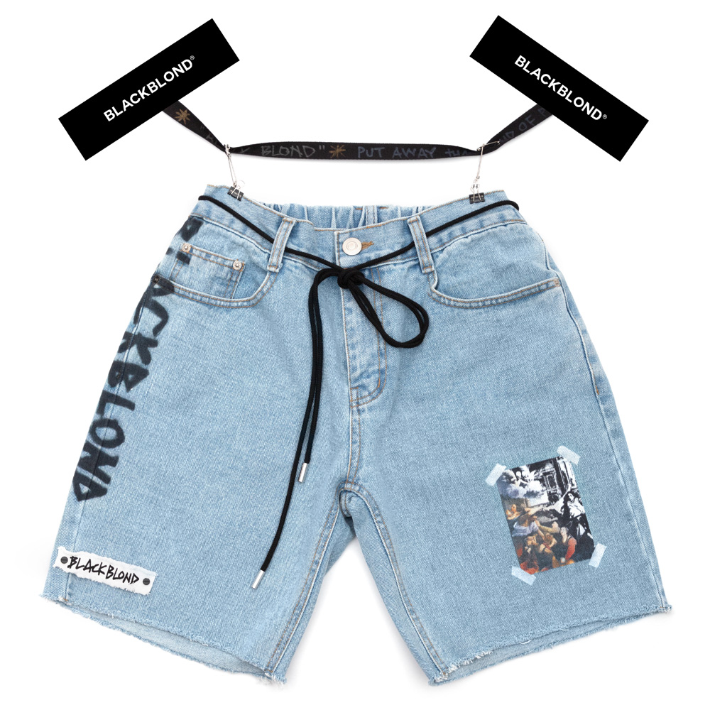 BBD Innocent Denim Shorts (Light Blue)