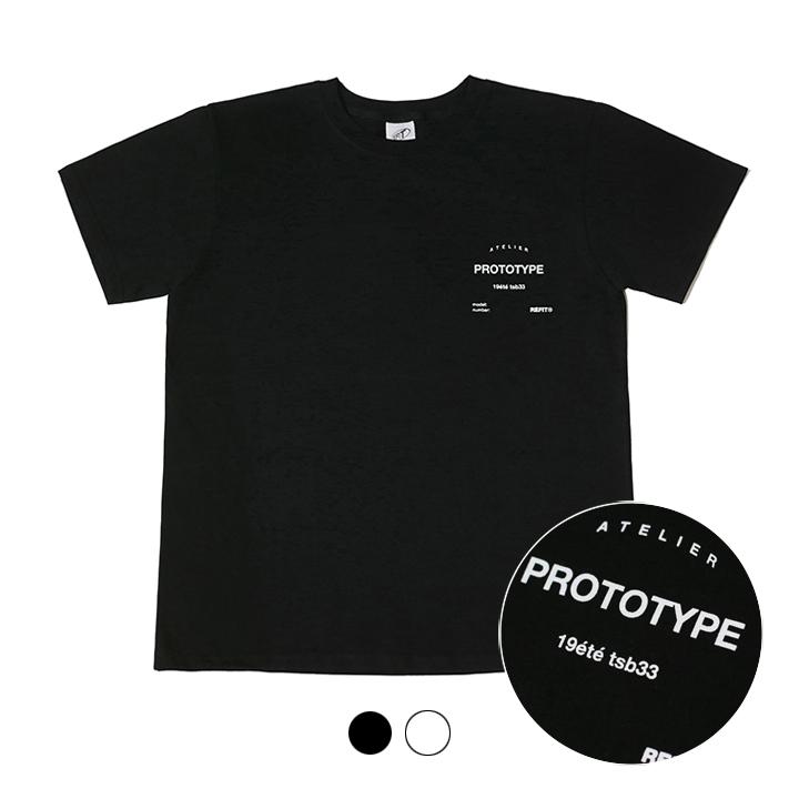 [단독상품][리핏] 프로토타입 티셔츠