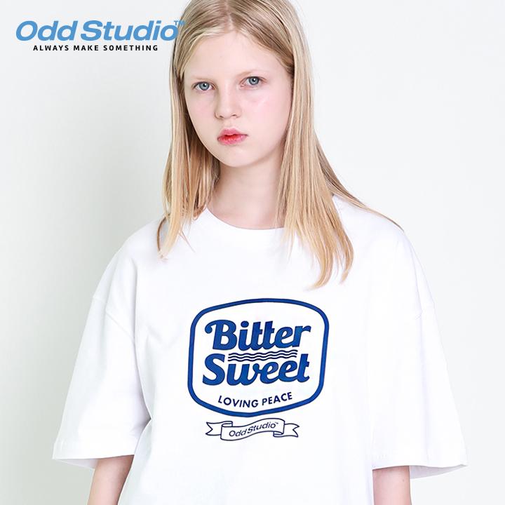 오드스튜디오 비터스윗 티셔츠 - WHITE