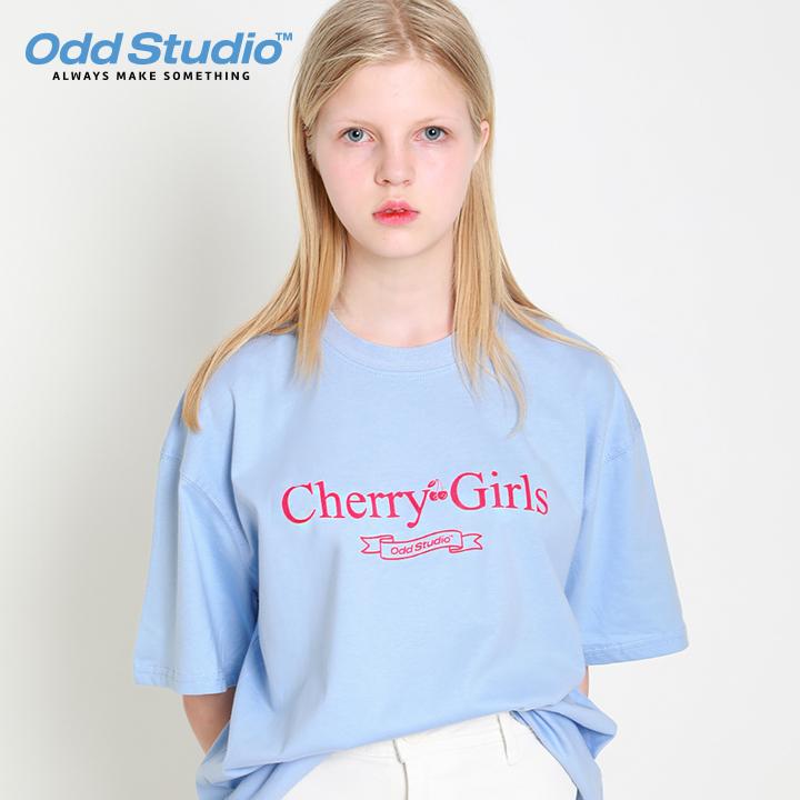 오드스튜디오 체리걸스 티셔츠 - SORA