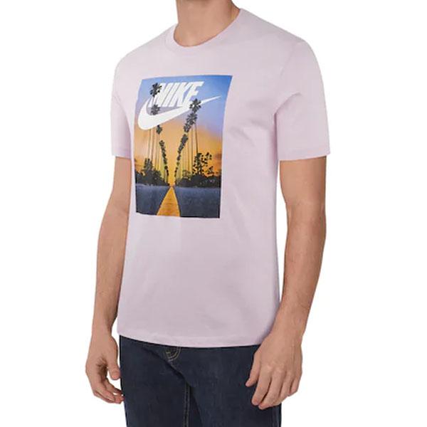 [해외]19SS 나이키 선셋 프린팅 티셔츠 핑크