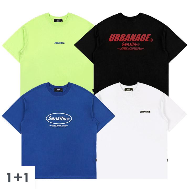 [1+1] [단독구성]NEW 아트워크 오버 티셔츠 4종