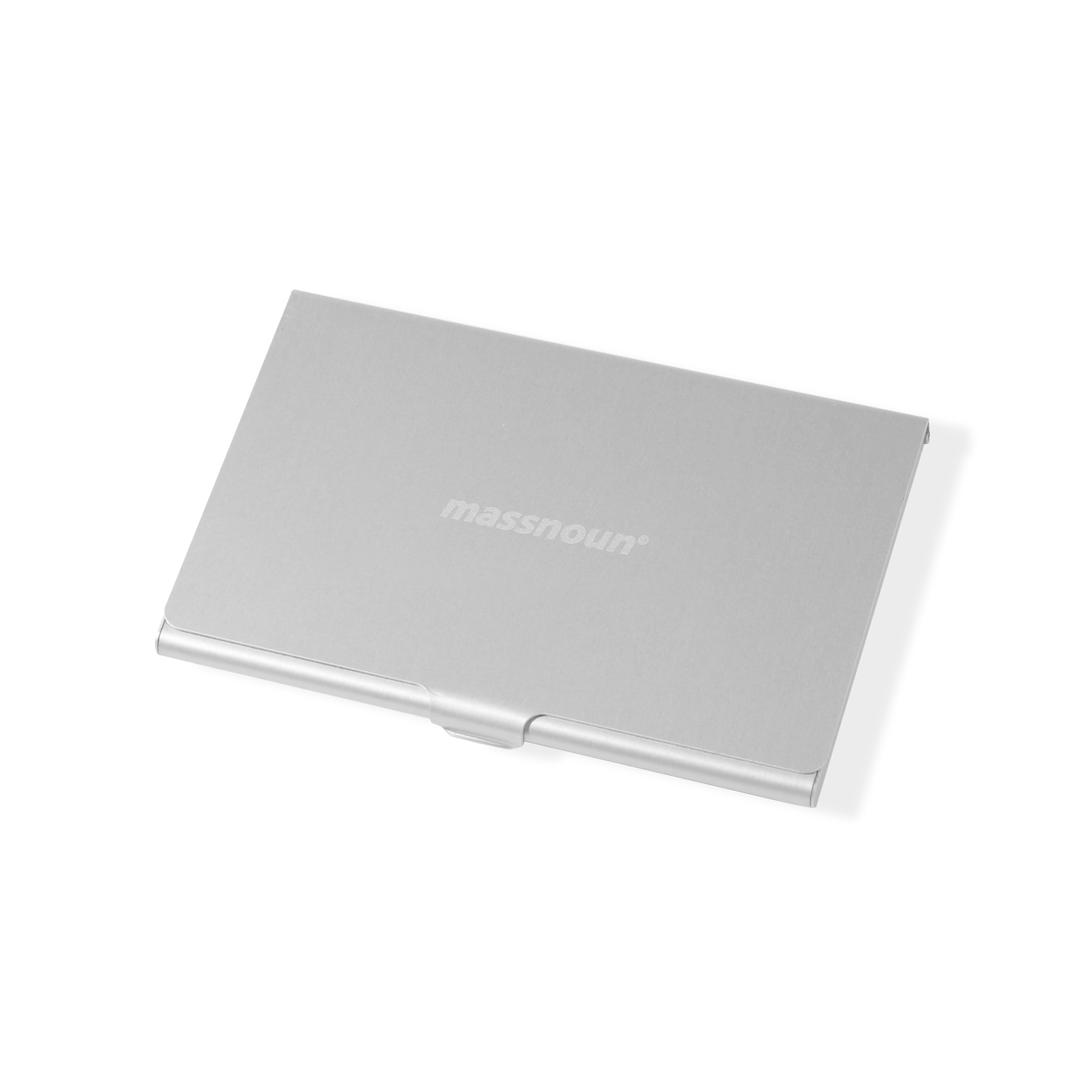 SL LOGO CARD CASE MSNAA004-SV