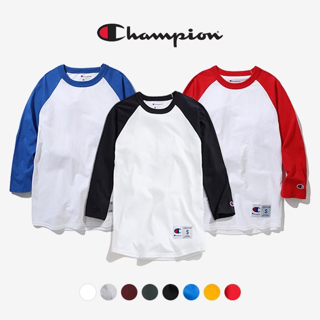 챔피온 T137 라그랑 베이스볼 3/4 티셔츠