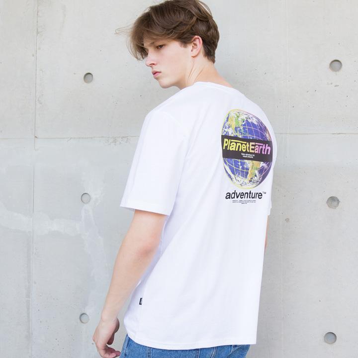 플루크 얼스네온 폴리곤 전사 티셔츠 FST130 / 4color