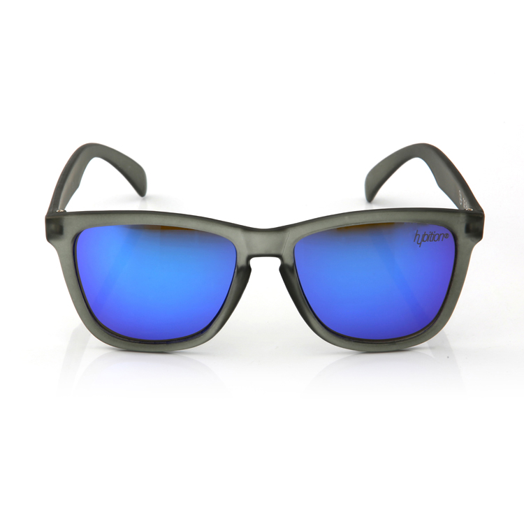 Unify Transparent Matt Grey / Blue Mirror Lens