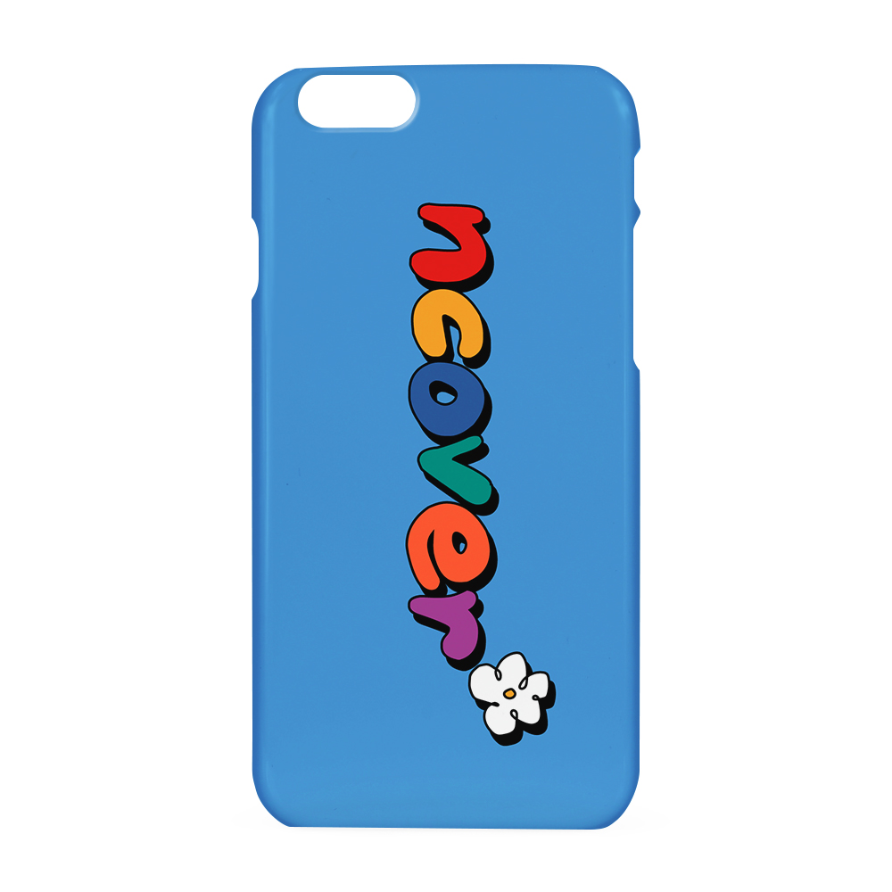 Pati color logo case-blue