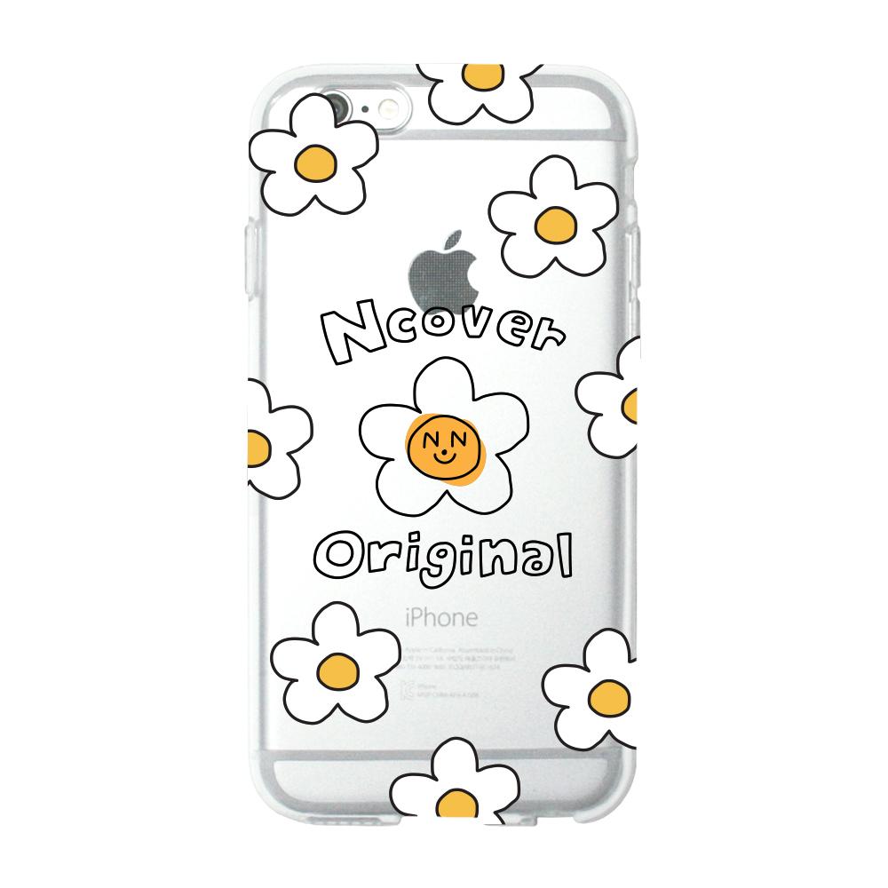 Smile flower dot(jelly case)