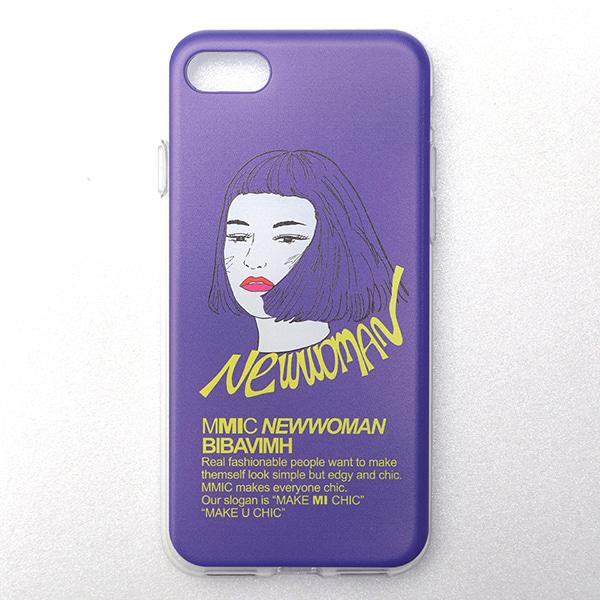 iPHONE7/8 NEWWOMAN-1 (PURPLE)
