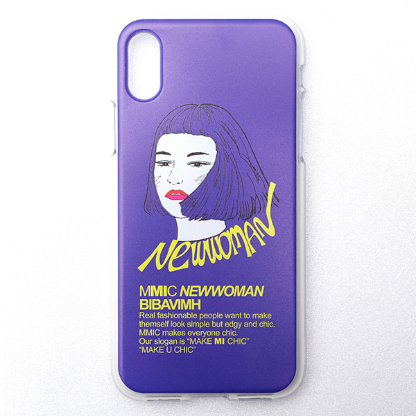 iPHONE X NEWWOMAN-1 (PURPLE)