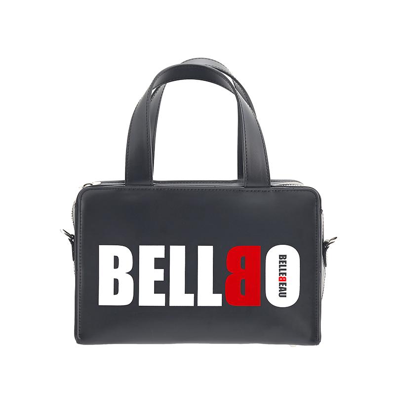 [BELLBO] BOX TOTE BAG BLACK