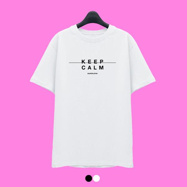[한정수량] 슈퍼레이티브 - KEEPCALM - 반팔 티셔츠