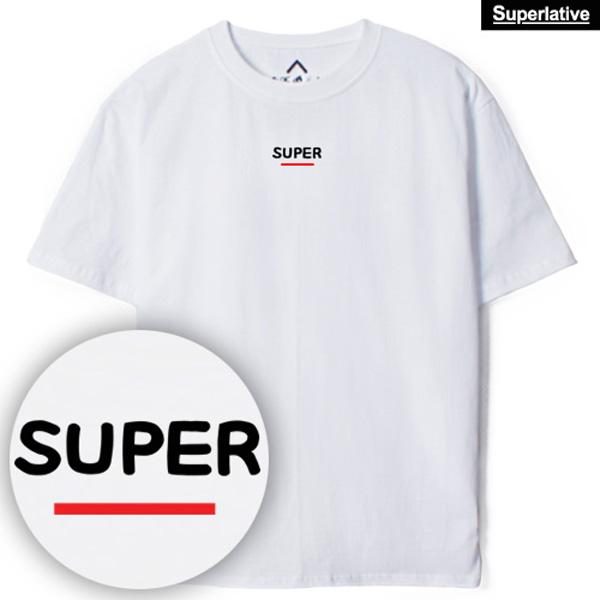 [한정수량] 슈퍼레이티브 - SUPER BAR 슈퍼 바 - 루즈핏 반팔 티셔츠