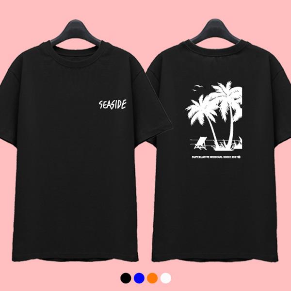 [한정수량] 슈퍼레이티브 - SEA SIDE - 반팔 티셔츠