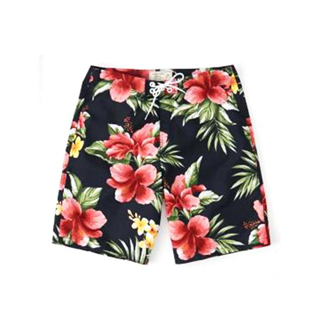 [국내배송]아베크롬비 수영복 반바지 바지 0015 025 네이비(꽃무늬)  남녀공용