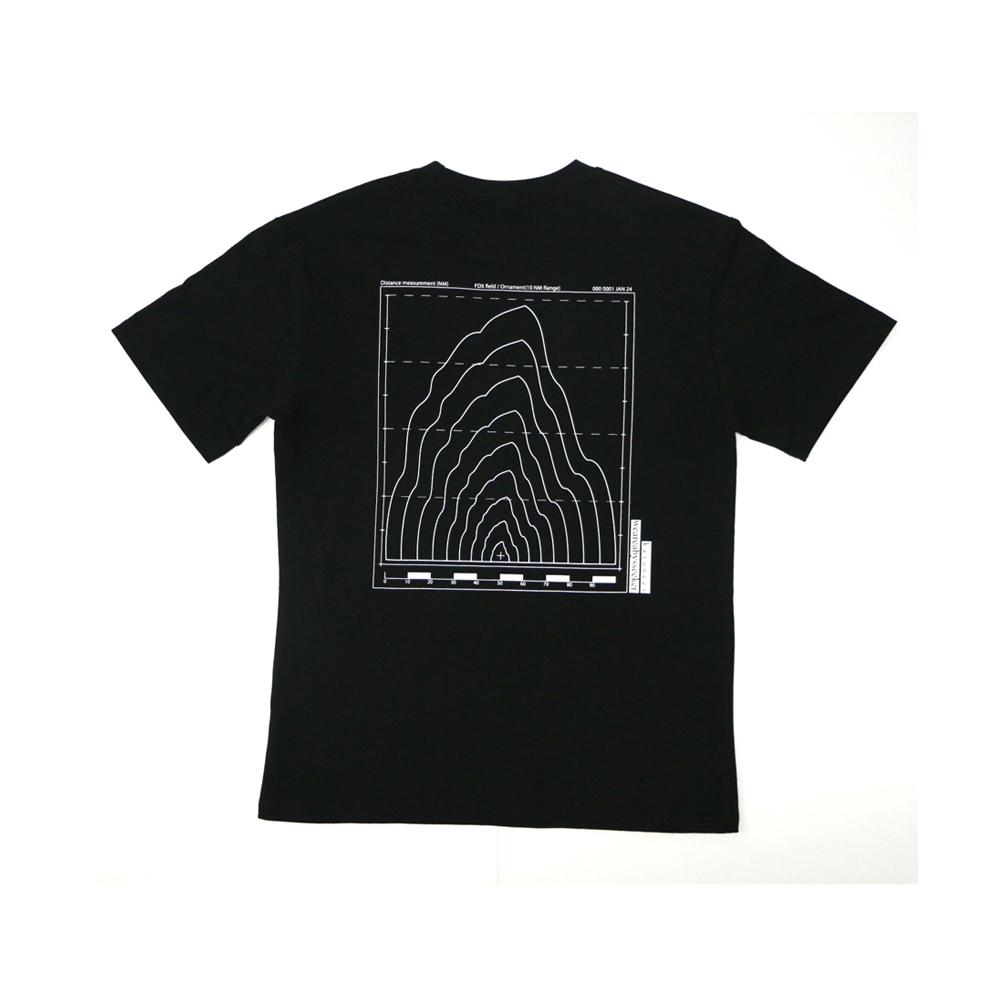로고 시그널 반팔 티셔츠(블랙)