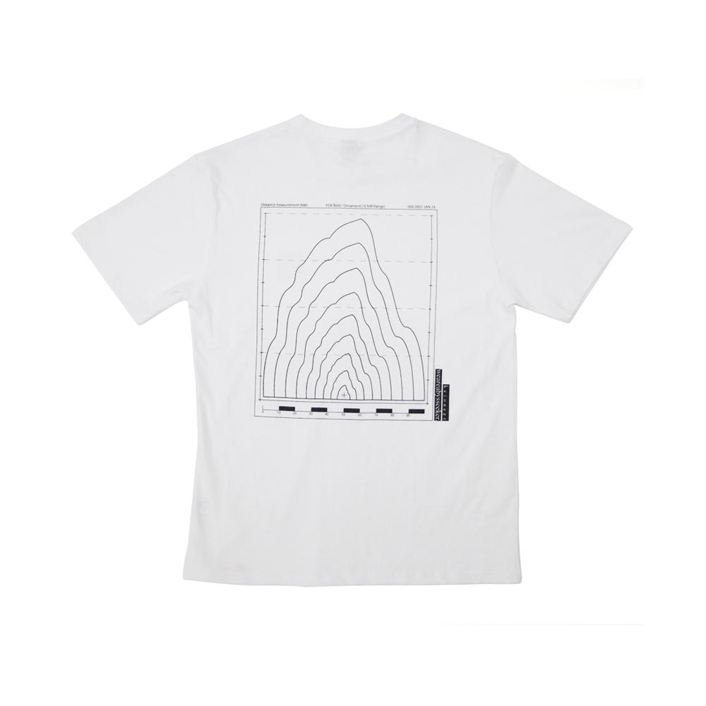 로고 시그널 반팔 티셔츠(화이트)