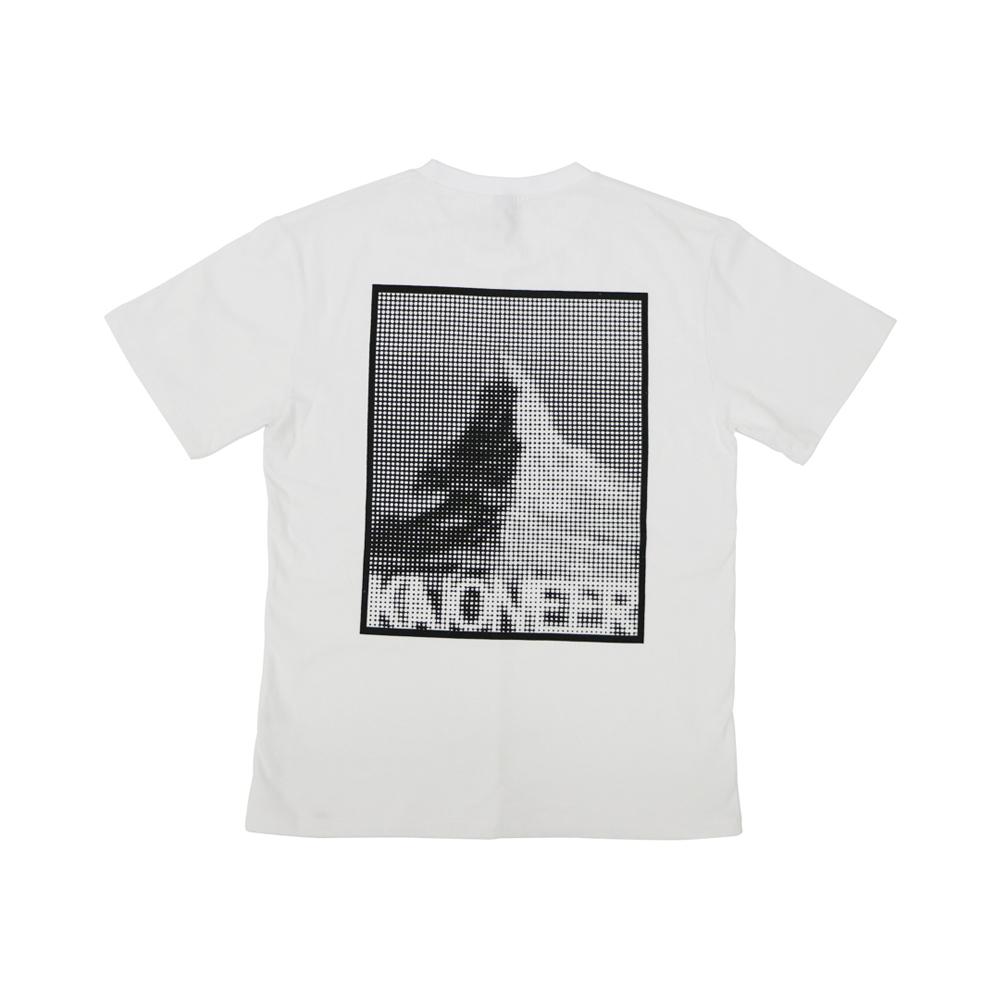 마테호른 도트 반팔 티셔츠(화이트)